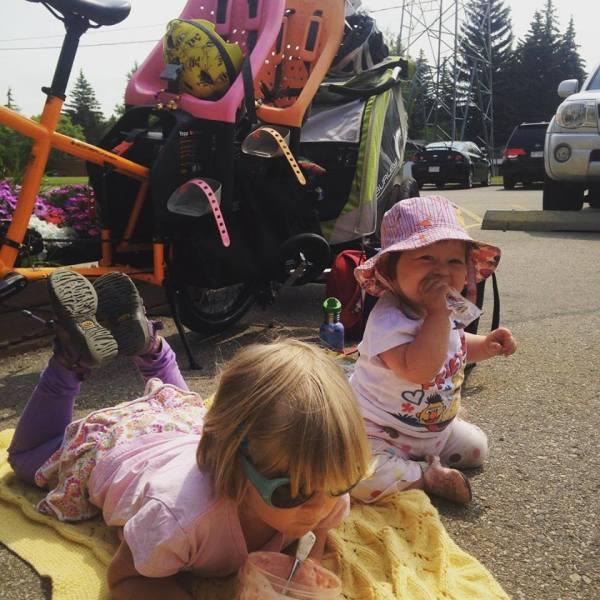 dance camp picnic