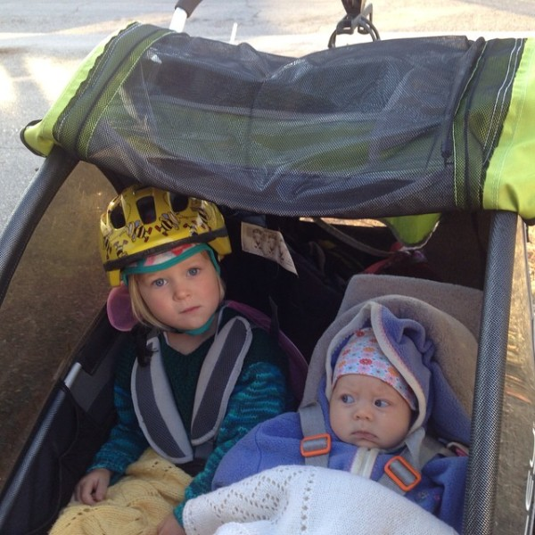 first bike ride for g burley